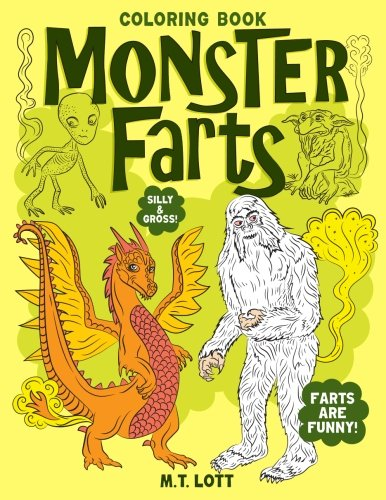 Monster Farts Coloring Book