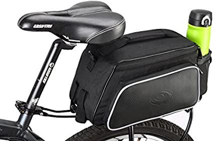 Mountain Bicycle Pannier Waterproof Bike Cycle Travel Rear Rack Seat Trunk Bags