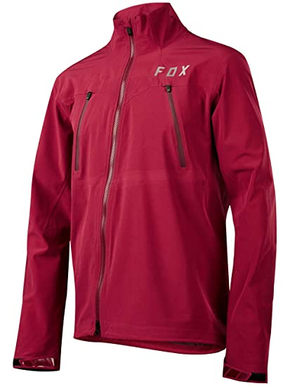Fox Attack Pro Water Jacket Men Dark Red 2017 - Chaqueta ...