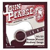John Pearse 300M 80/20 Bronze Acoustic Guitar Strings (Standard)
