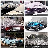 Leader Accessories Jeep Wrangler 1987-2013 CJ,YJ, TJ,& JK 2 Door Waterproof Car Cover