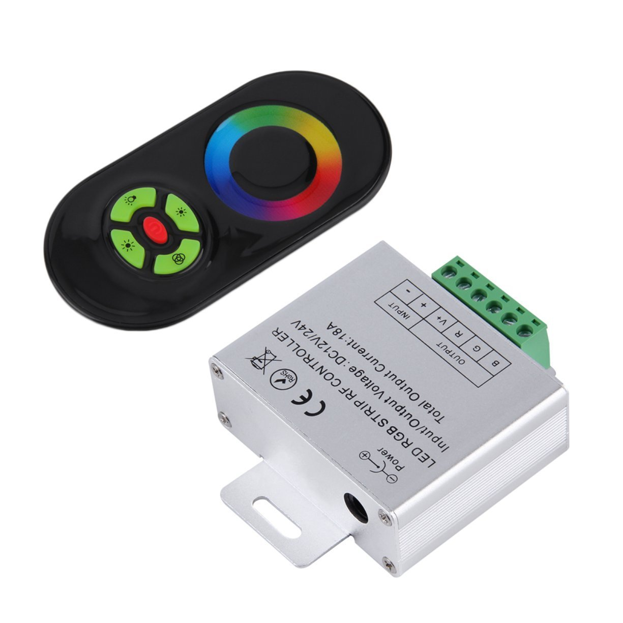 NEW Touch RGB controller DC12V 24V Wireless LED Controller RF Touch Panel LED Dimmer RGB Remote Controller