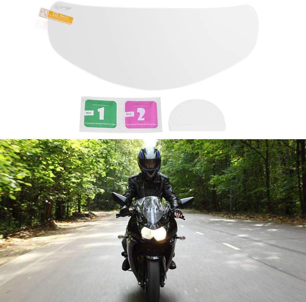 Pellicola per visiera per casco Pellicola per obiettivo per casco da moto impermeabile universale per protezione