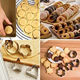 Homy Feel Mini Geometric Shaped Cookie Biscuit