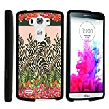 LG G3 Phone Case, Perfect Fit Cell Phone Case Hard Cover with Cute Design Patterns for LG G3 (D850, D851, D855, VS985, LS990, US990) by MINITURTLE - Zebra Flower Camouflage