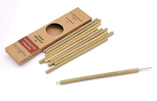 Primekitchen Bambus Strohhalme Mit Unterscheidungsmerkmalen Und