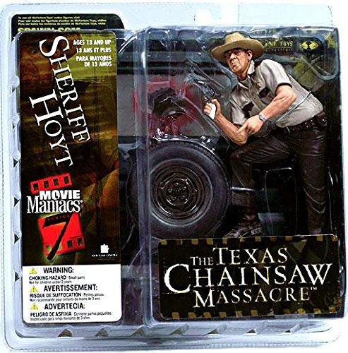 McFarlane Toys Movie Maniacs Series 7 Action Figure Texas Chainsaw Massacre Sheriff Hoyt