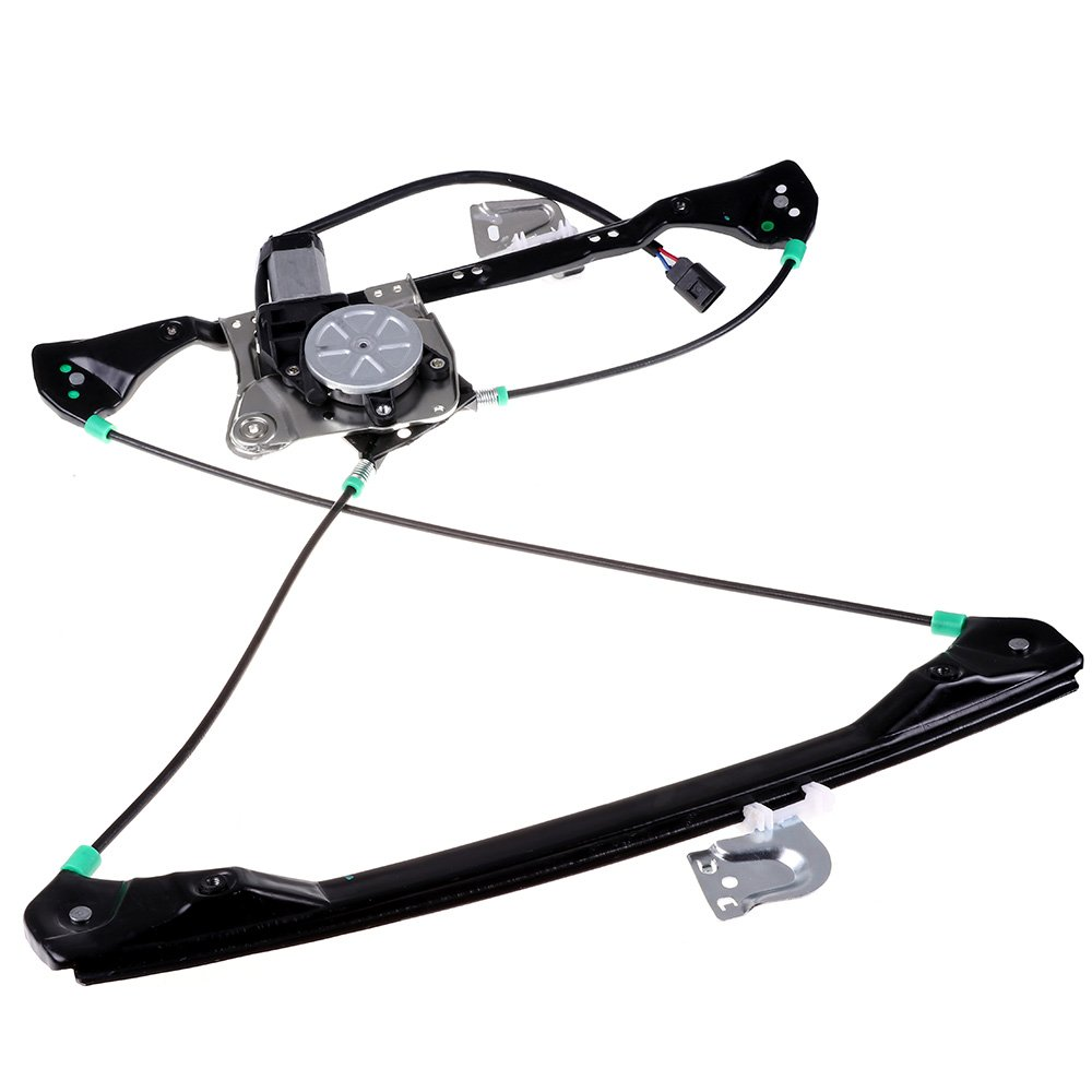 cciyu Front Left Drivers Side Power Window Lift Regulator With Motor Assembly Replacement Replacement fit for 1999-2005 Pontiac Grand Am 4 Door 1999-2004 Oldsmobile Alero 4 Door by cciyu
