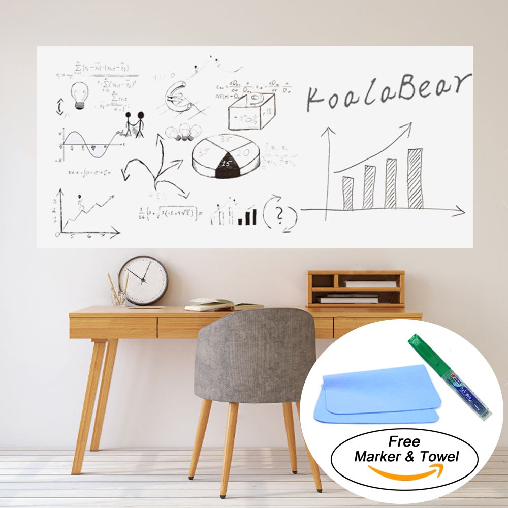 Amazon koalabear 10 sheets dry erase self adhesive sheets amazon koalabear 10 sheets dry erase self adhesive sheets 83 x 122 office products amipublicfo Images