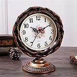 American Quiet Living Room Ben Chung Retro Classic Country Pendulum Clock Simple Clock, Bronze