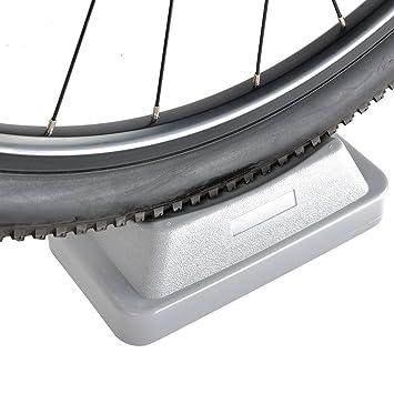 RockBros plástico rueda delantera bloque elevador para uso en interiores para bicicleta Turbo Trainer para Bicicleta de la rueda delantera bloque de apoyo: ...