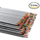 heartybay Colored Pencils Set Drawing Pencils 72 Assorted Colors