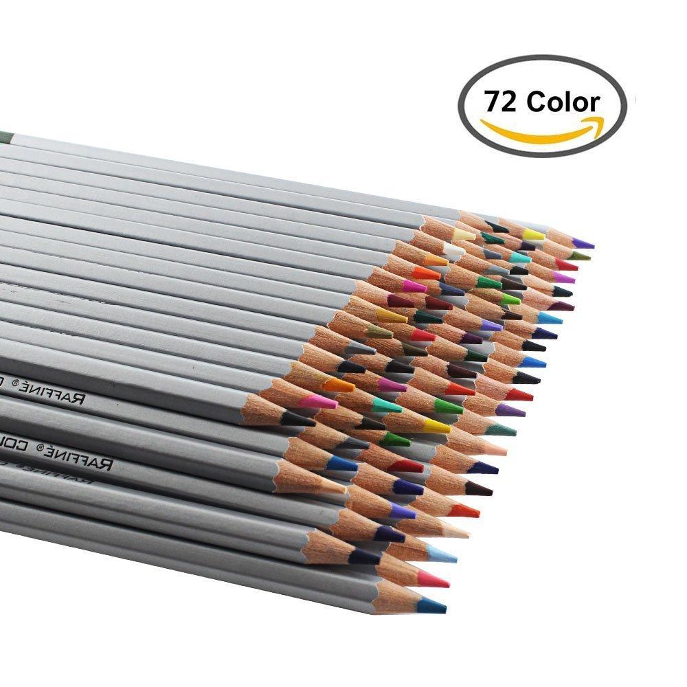 Art colored pencils - Amazon Com Heartybay Colored Pencils Set Drawing Pencils 72 Assorted Colors