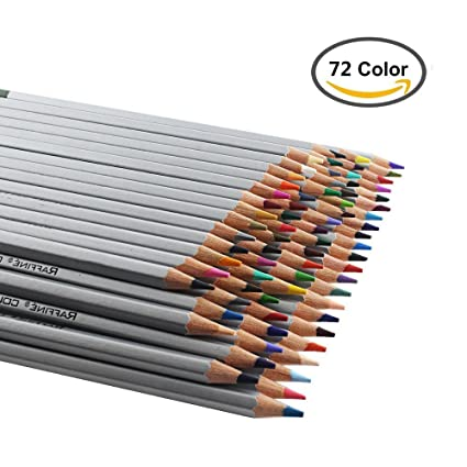 amazon com heartybay colored pencils set drawing pencils 72
