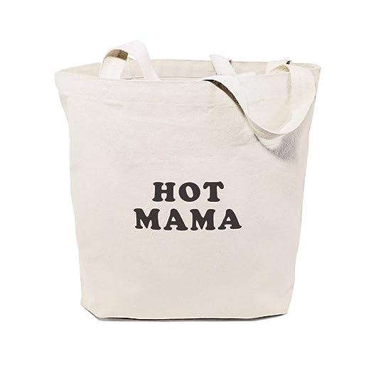 Hot Mama - Bolsa de lona de algodón para yoga, compras ...