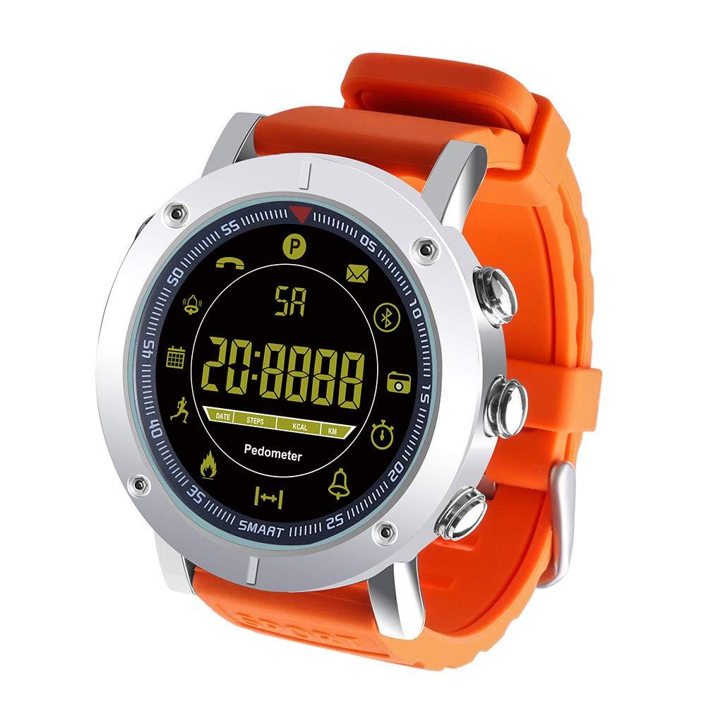 EX19 Smartwatch Android iOS Impermeable Podómetro Reloj de ...