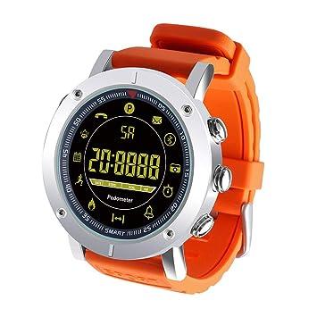 EX19 Smartwatch Android iOS Impermeable Podómetro Reloj de Salud ...