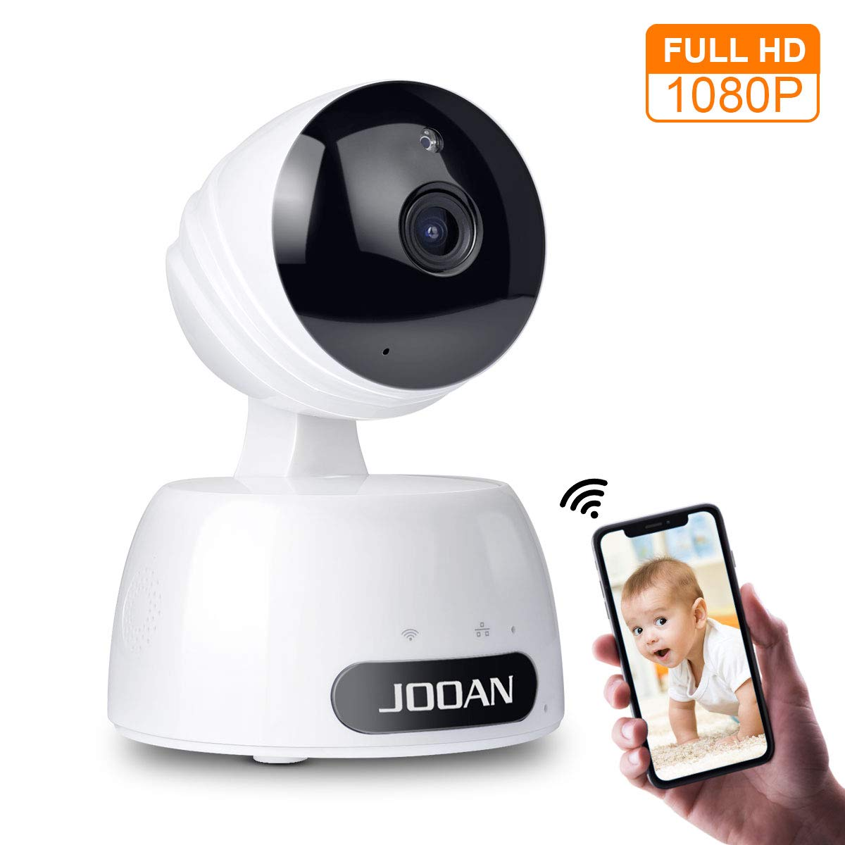 1080P Home Security Camera 2MP HD WiFi IP Camera Wireless Surveillance Camera System Great As A Baby Pet Monitor with Two Way Audio Remote Access Night Vision and Motion Detection Alerts