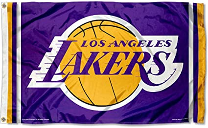 LAKERS     3/' X 5/' Polyester Flag