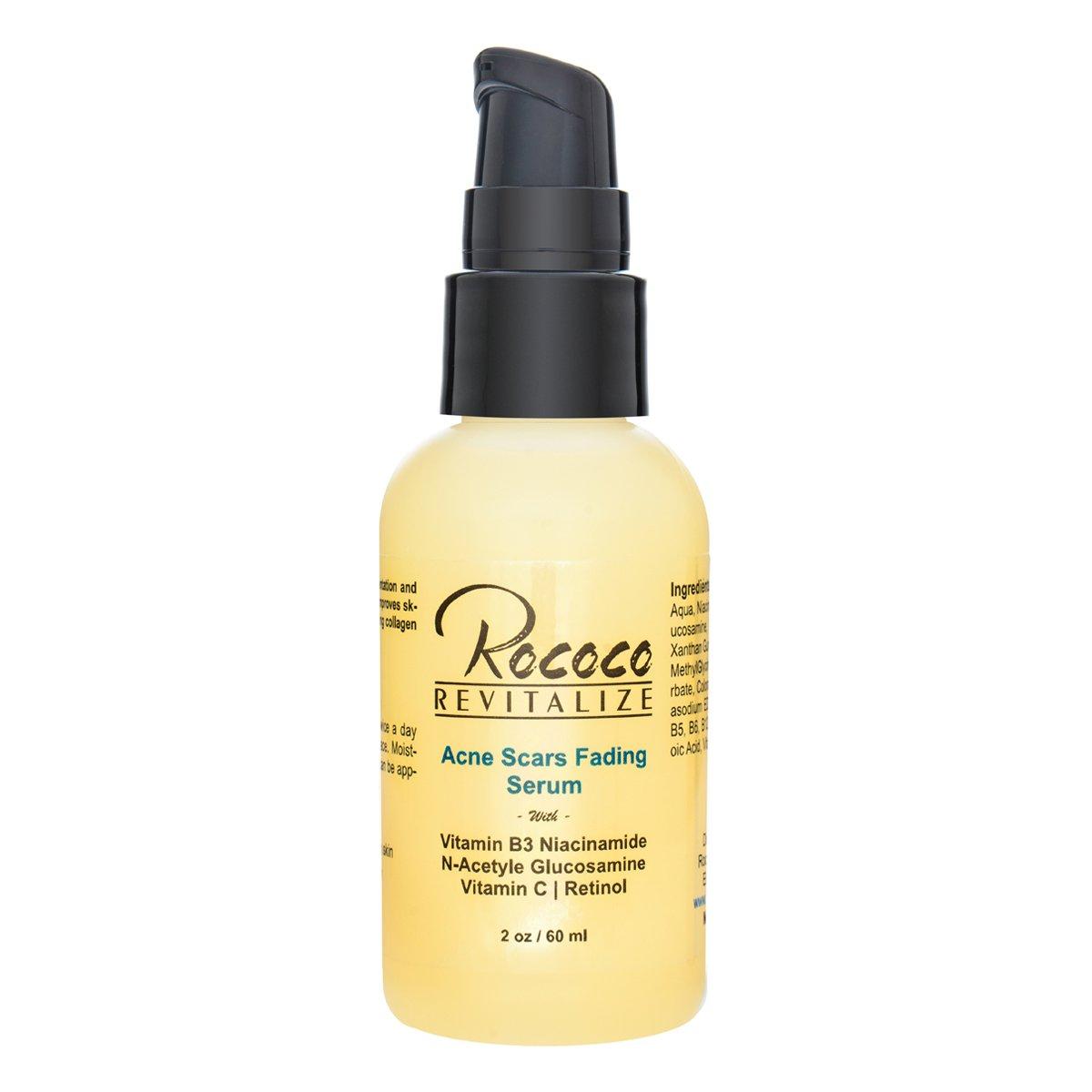 Amazon Com Acne Scar Removal Fading Treatment Retinol Serum