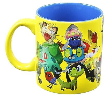 Pokemon Print Group Pokemon Group Foil Pokemon Foil Print Mug Mug cSjL4qAR35