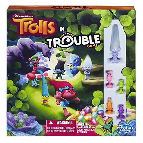 Hasbro DreamWorks Trolls in Trouble Game -