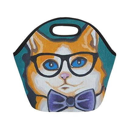 126d35e7b4ce InterestPrint Lunch Bags Pop Art Lunch Bag Lunch Box Lunch Tote For Adult  Teens Men Women