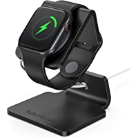 Lamicall Support pour Apple Watch, Stations de Charge : Support Dock pour Apple Watch Series 4/3 / 2/1 - Noir