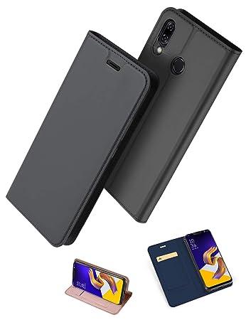 f657bdb1b5 ZenFone 5 ZE620KL 手帳型 ケース uovon 軽量 ASUS ZenFone 5Z ZS620KL 用 ポケット カード収納