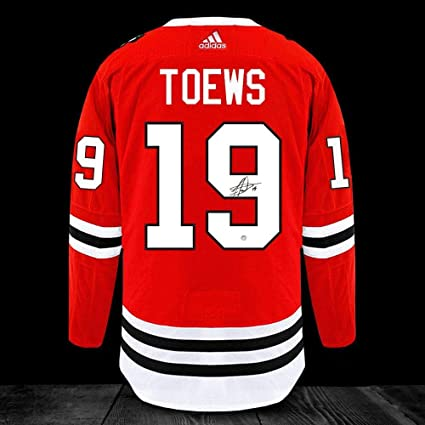d7ddb2778 Image Unavailable. Image not available for. Color  Autographed Jonathan  Toews Jersey - Adidas Pro - Autographed NHL Jerseys