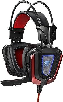 Auriculares Gaming PS4 PC TaoTronics Auriculares Diadema Cascos ...