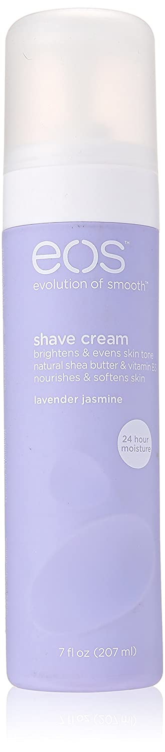eos Ultra Moisturizing Shave Cream - Lavender Jasmine | Provides 24-Hours Of Skin-Softening Moisture | Shave Wet or Dry | 7 Fl Oz