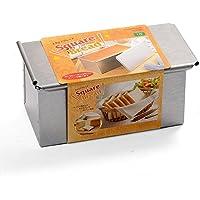 CAKELAND 带盖9.5cm正方吐司面包模具1斤 2383(日本的1斤≈600g)