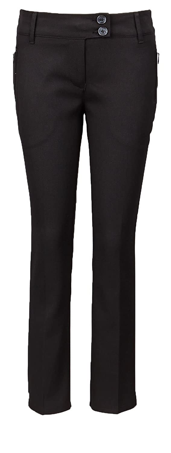 topclass Girls Woven Quality School Trousers