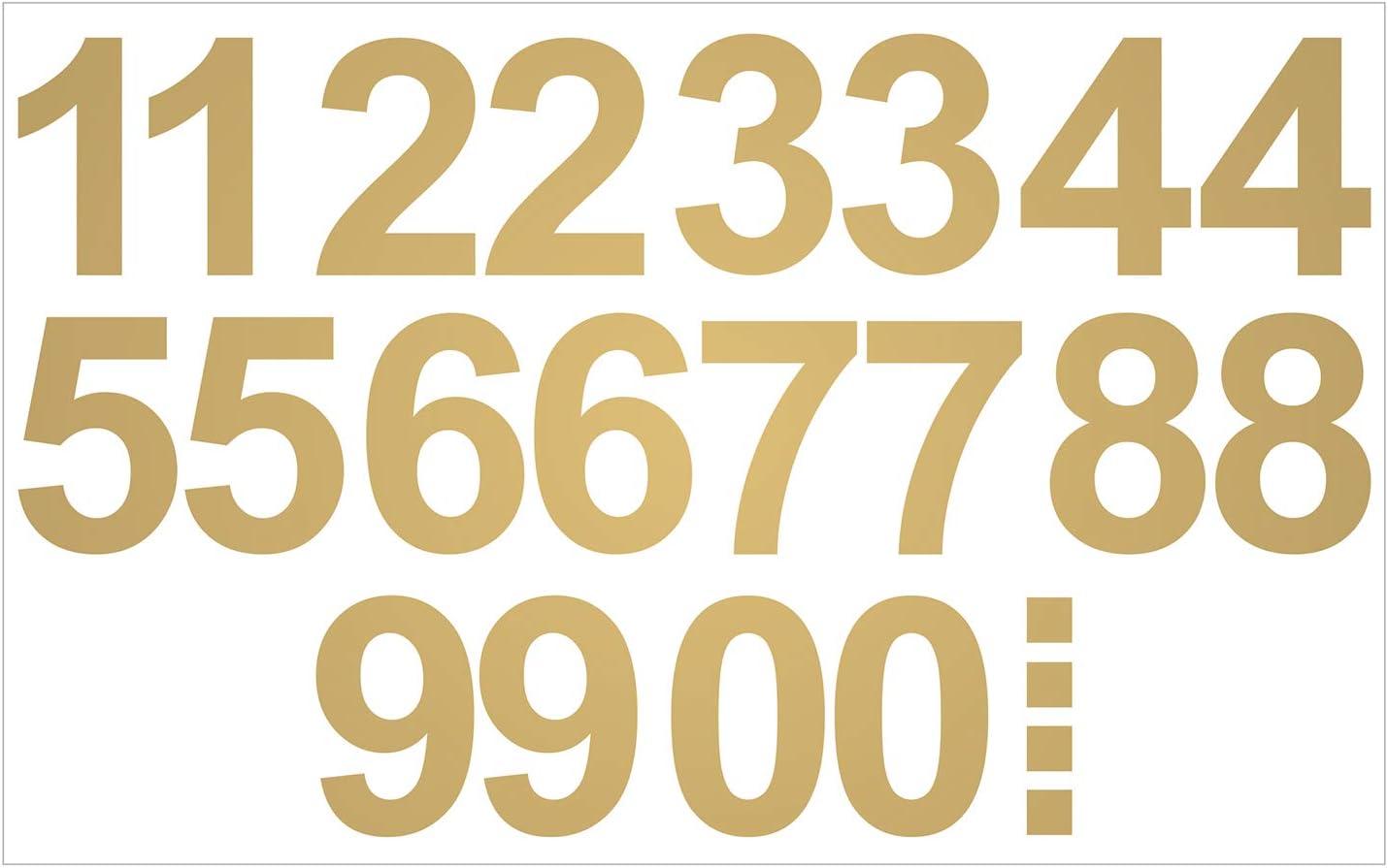 Wasser und wetterfest ideal f/ür den Au/ßenbereich 20 HOCHWERTIGE KLEBEZAHLEN Leicht anzubringende Zahlen Aufkleber 15cm in schwarz gl/änzend selbstklebende Ziffern und Nummern 0-9