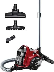 Bosch BGC05AAA2 GS05 Cleannn - Aspirador sin bolsa, 700 W, 1.5 litros, color Rojo y negro