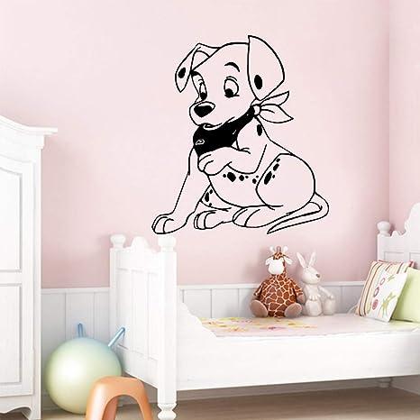 Perro lindo a prueba de agua pegatinas de pared decoración ...