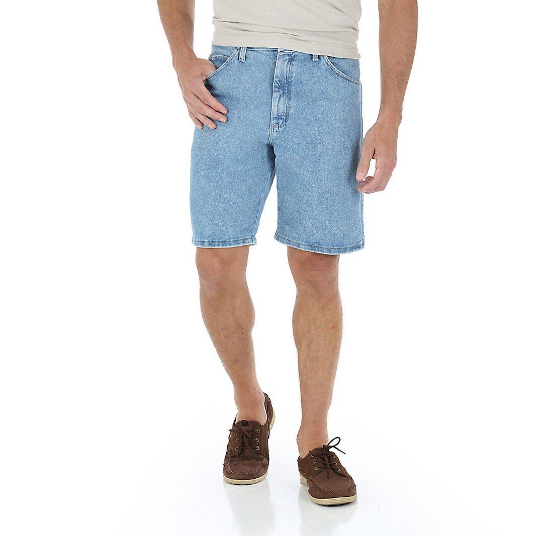 Wrangler Mens Relaxed Fit Short (42, Light Stone)