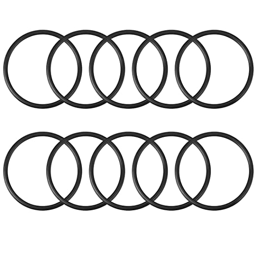 Outer Diameter 105 mm Pack of 10 Round Seal Gasket Width 3.1 mm O-Rings Nitrile Rubber Internal Diameter 98.8 mm