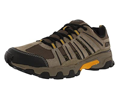 promo codes exquisite style authentic Fila Mens Day Hiker Trail Shoes (Brown/Black/Gold, 11.5)