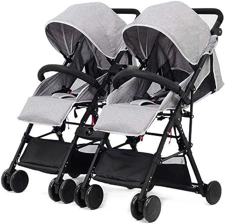 2 in 1//3 in 1 Baby Pram Tandem Stroller Twin Double Pushchair Lightweight Buggy