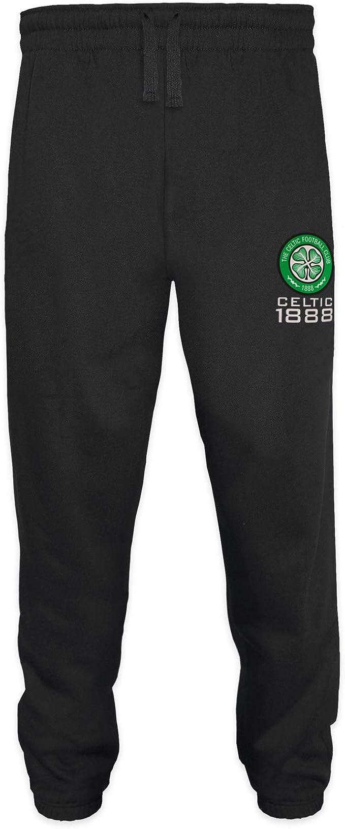 BOYS 4 5 Years CELTIC FC Tracksuit Jog Pants KIDS Football Bottoms Trousers