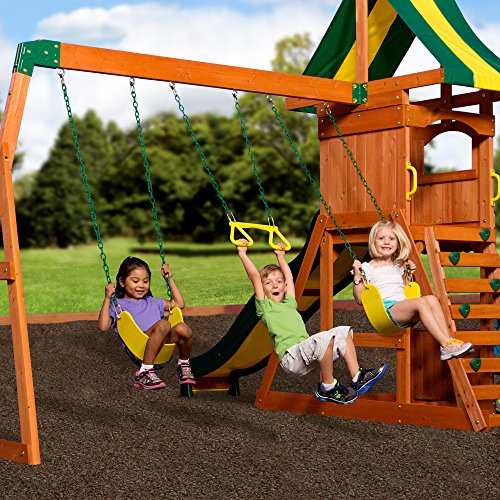 Buy swing set for small backyard