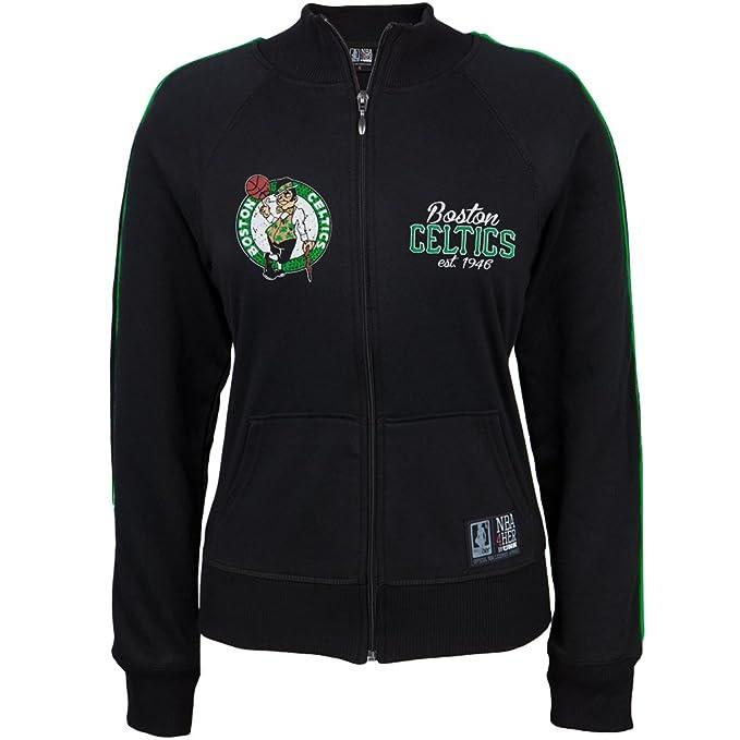 Boston Celtics – Juego 7 Juniors Track – Chaqueta para mujer Negro negro large