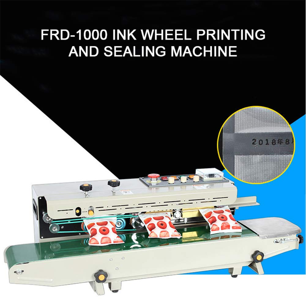 FR900 Succebuy Machine de Scellage Horizontal Machine de Scellage /à Bande Continue La Machine de Scellage de Bande