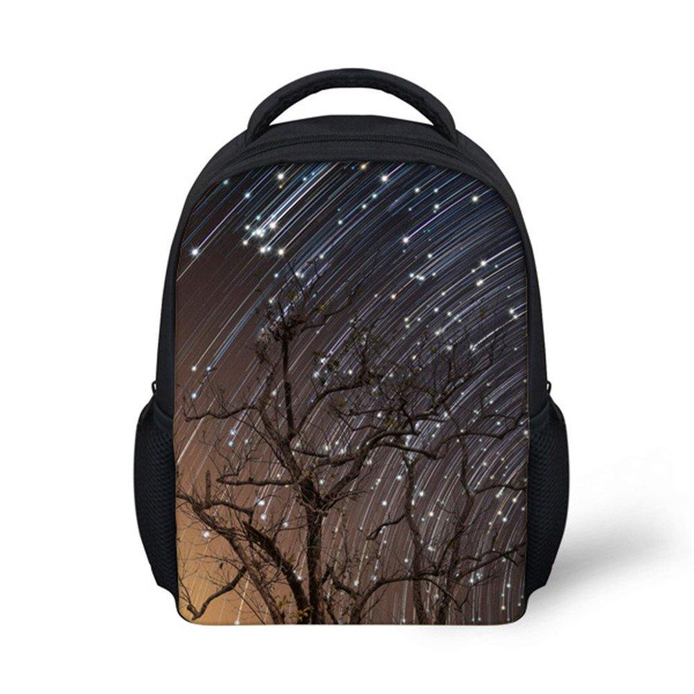 Hoijay Preschool Backpack, Little Kid Backpacks for Boys and Girls Camping Meteor Shower