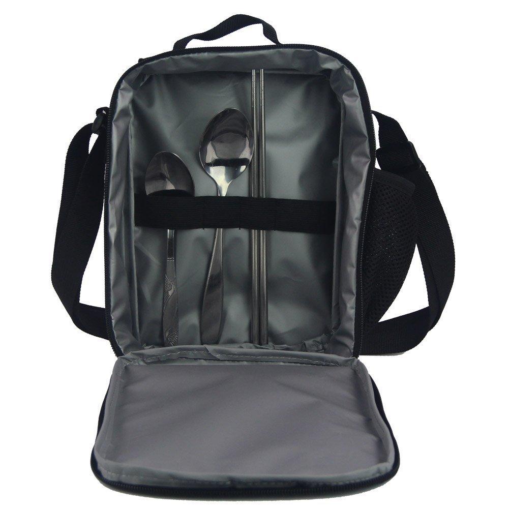 HUGS IDEA Kitten Cat Printing School Backpack Kids Schoolbag with Lunch Bag by HUGS IDEA (Image #6)