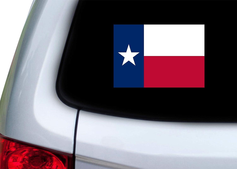 3x5 Inch Texas State Flag Sticker Car Decal Bumper Sticker Lone Star Truck Window Rogue River Tactical KDWVMA2677