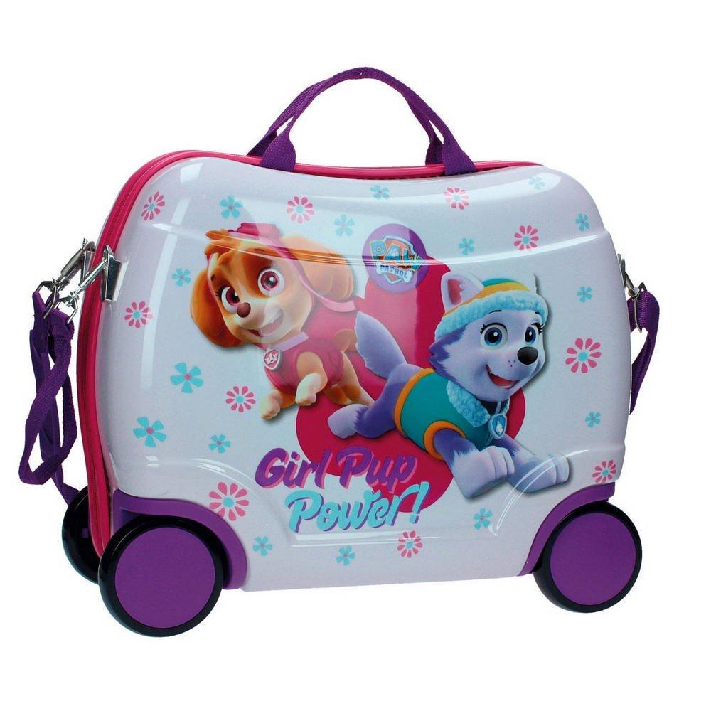 Paw Patrol Sitzkoffer Kindergepäck, 25 Liter, Rosa