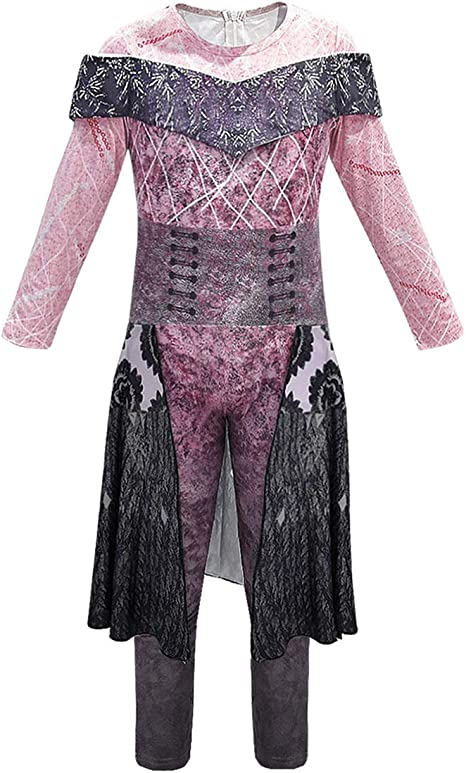 Disney Descendants 3 Evie Cosplay Costume Adult /& Kid Outfit Suit Custom Made